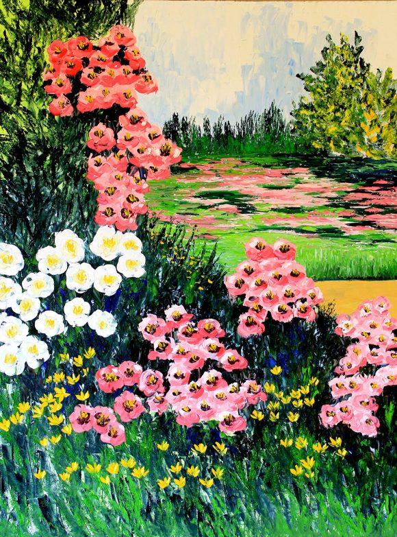 Oil painting on canvas,  91см х 121сm