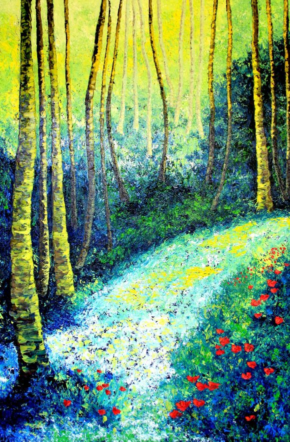 Oil painting on canvas, 152сm х 100cm