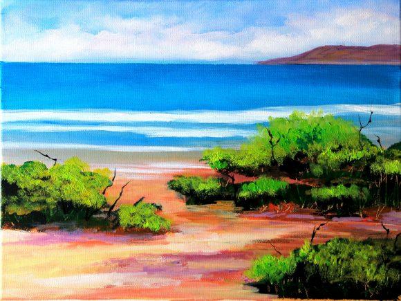Oil painting on canvas,  30см х40 сm
