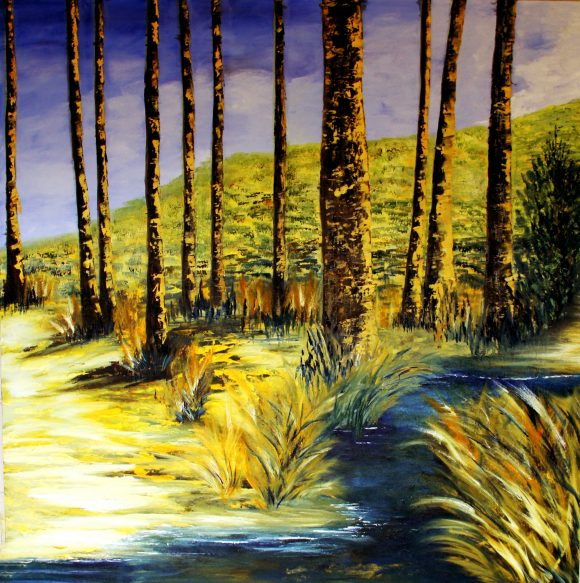 Oil painting on canvas 95