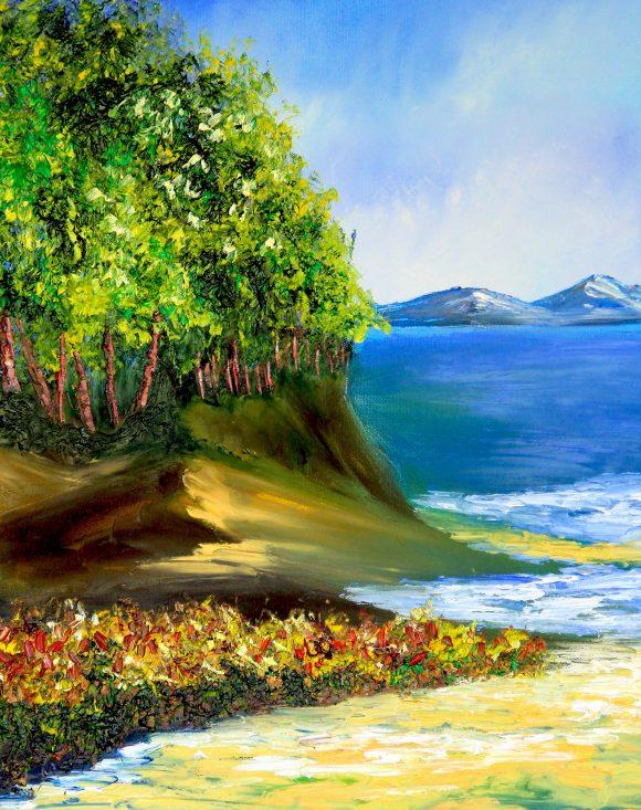 Oil painting on canvas,  50см х 40сm