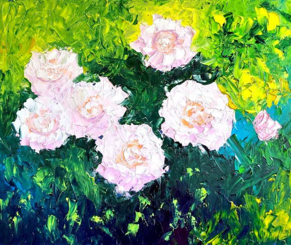 Oil painting on canvas 54