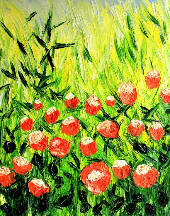 Oil painting on canvas 55