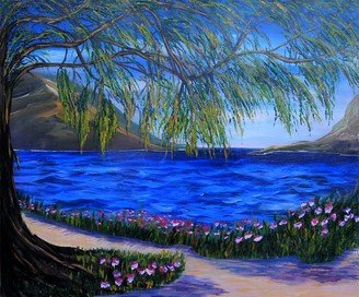 Oil painting on canvas 112