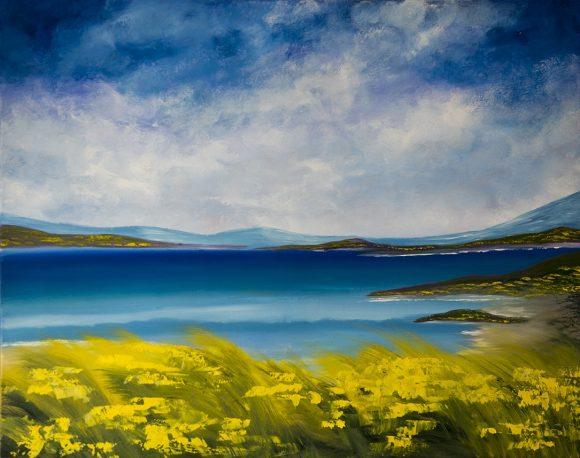 Oil painting on canvas,  88см х 121cm