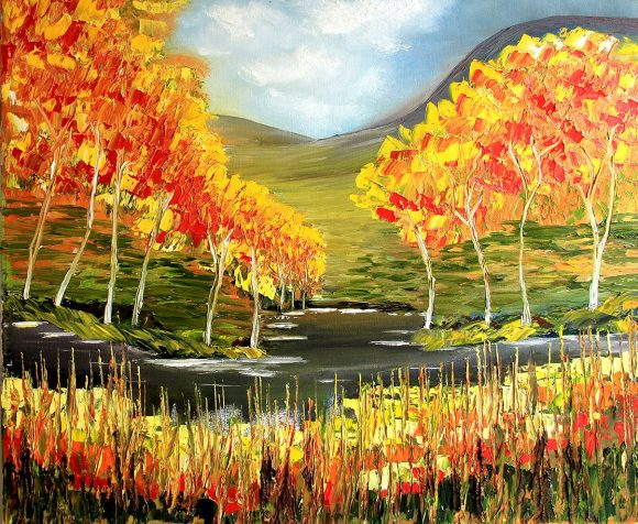 Oil painting on canvas 116