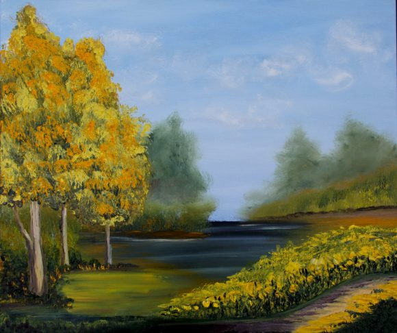 Oil painting on canvas 117