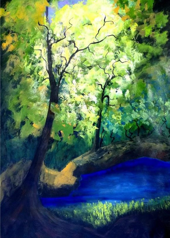 Oil painting on canvas 119