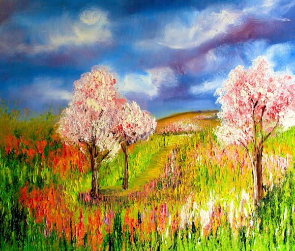 Oil painting on canvas 122