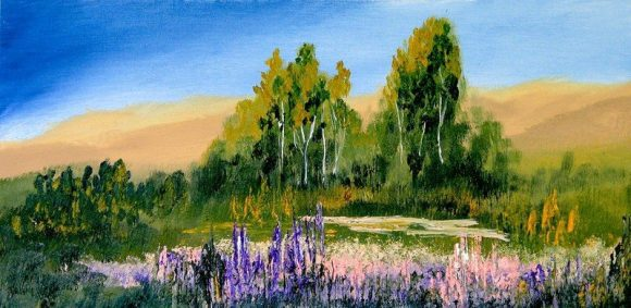 Oil painting on canvas 124