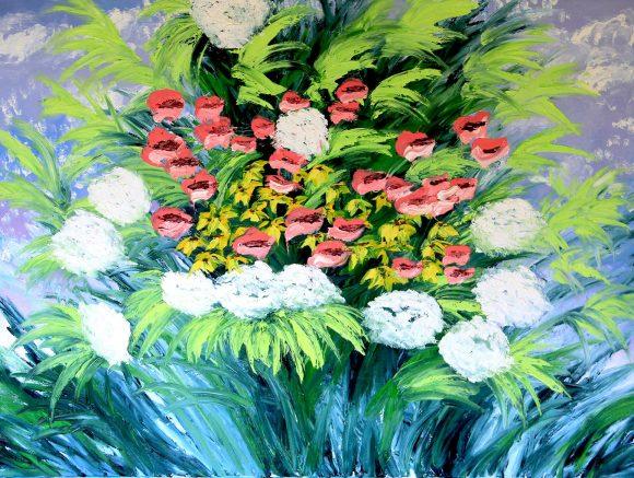 Oil painting on canvas,  76см х 100cm