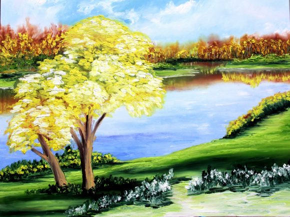 Oil painting on canvas 83