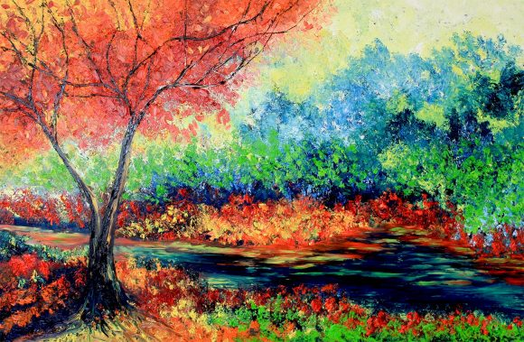 Oil painting on canvas, 101см х 152 cm To enquirne about a paiting please contact me ospaintdreams@gmail.com